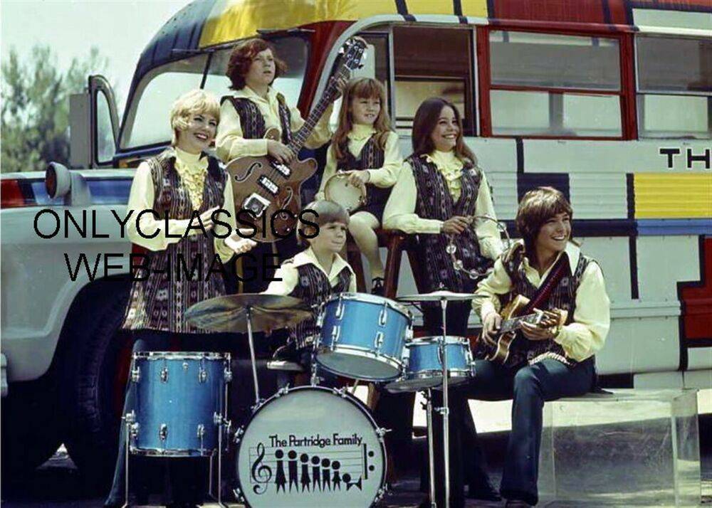 THE PARTRIDGE FAMILY TELEVISION ROCK GROUP BAND PHOTO ...