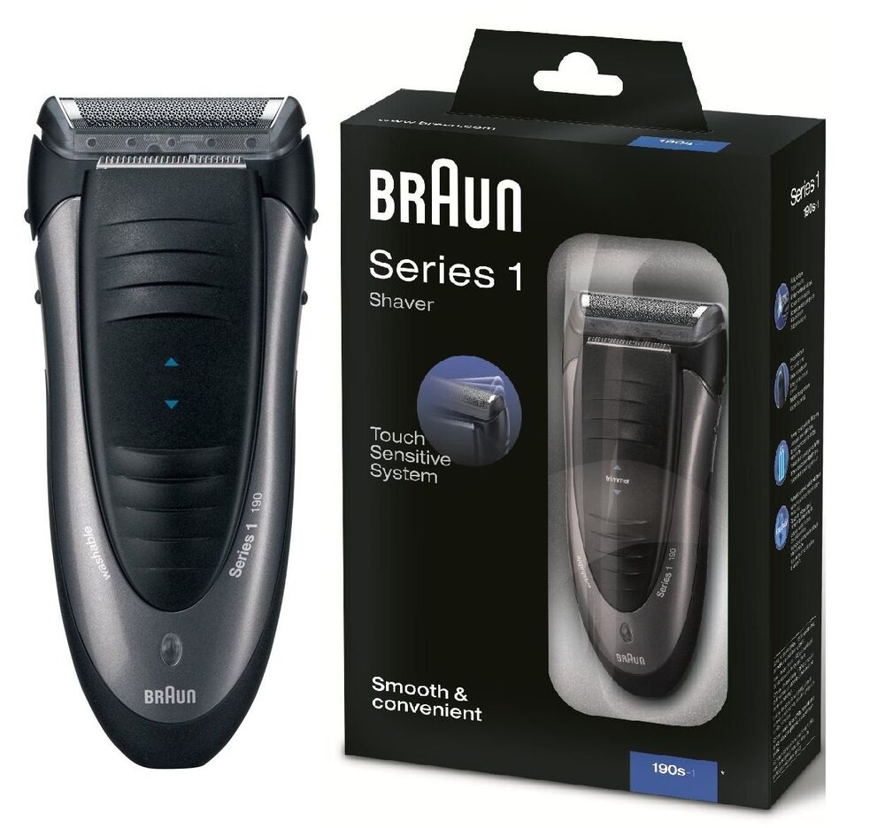 braun series 1 190s 1 one electric shaver touch. Black Bedroom Furniture Sets. Home Design Ideas