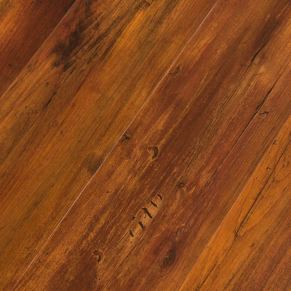 luxury vinyl click floor plank 4mm featherweight smoked hickory sample ebay. Black Bedroom Furniture Sets. Home Design Ideas