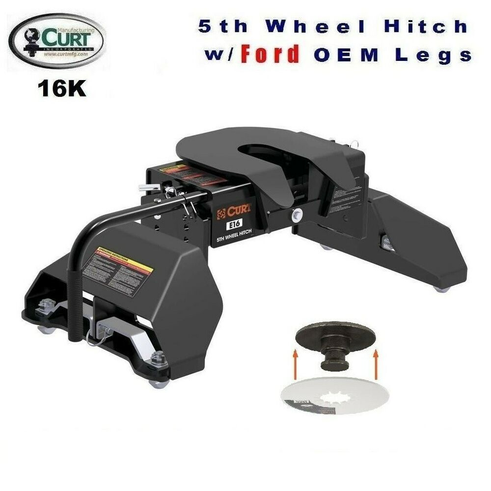 F350 Towing Capacity >> 16K CURT 5TH WHEEL TRAILER HITCH & OEM COMPATIBLE LEG FOR ...