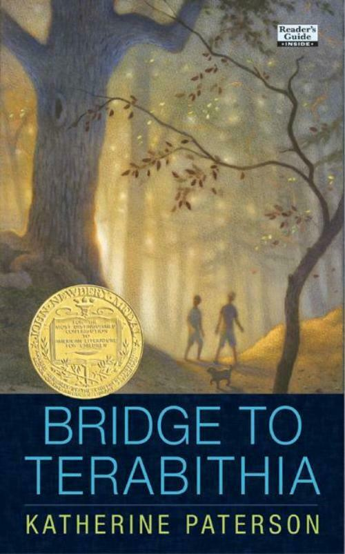 "a summary of bridge to terabithia a childrens literature by katherine paterson The great children's literature study: 5 lessons writers can learn from the classic middle grade nove bridge to terabithia by katherine patterson in chapter 4, mrs myers reads leslie's essay on scuba diving out loud to the class and ""the power of leslie's words drew jess with her under the dark water."