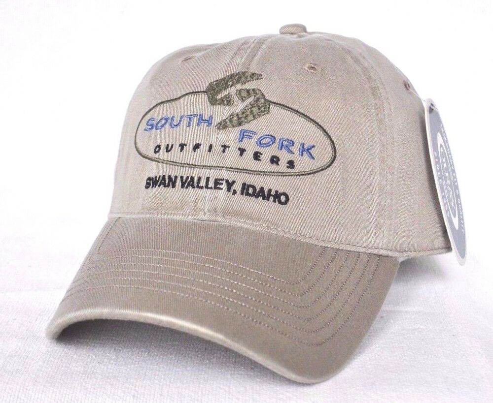 South fork outfitters swan valley idaho fly fishing ball for Fishing ball caps