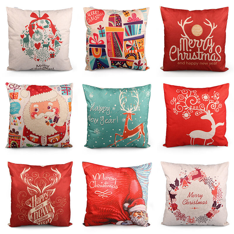 Christmas decorative pillows and Christmas pillow covers are also perfect for gifting for Christmas, Hanukkah, New Years, and more. They are an easy and inexpensive gift to bring to a gift swap and the gift receiver is bound to love home décor as a gift.
