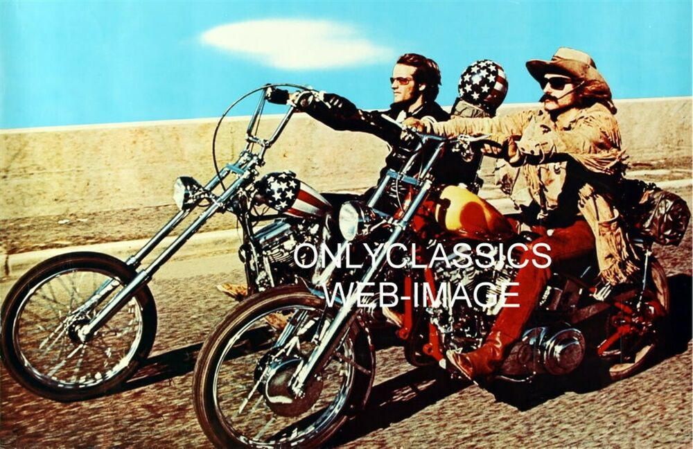 EASY RIDER MOTORCYCLE HARLEY DAVIDSON CHOPPER CAPTAIN AMERICA POSTER ... Easy Rider Movie Poster