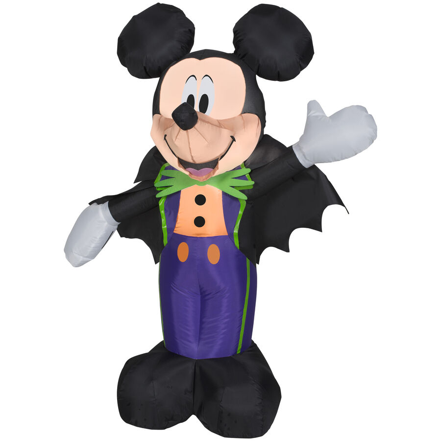 Halloween disney mickey mouse bat wings airblown for Deco mickey