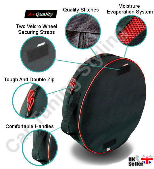 1 X Car Vehicle Spare Wheel Storage Carry Tyre Bag Protection Cover Space Saver Ebay