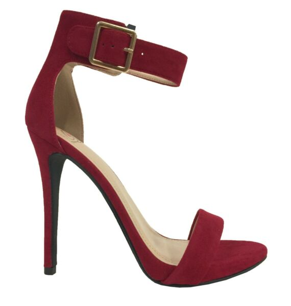 CANTER! Women's Delicious Classy Open Toe Ankle-Strap Stiletto High Heel Sandals