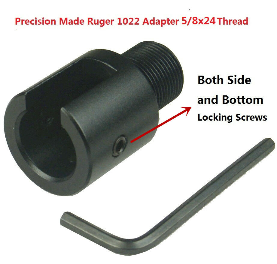 Ruger quot x tpi al adapter and birdcage