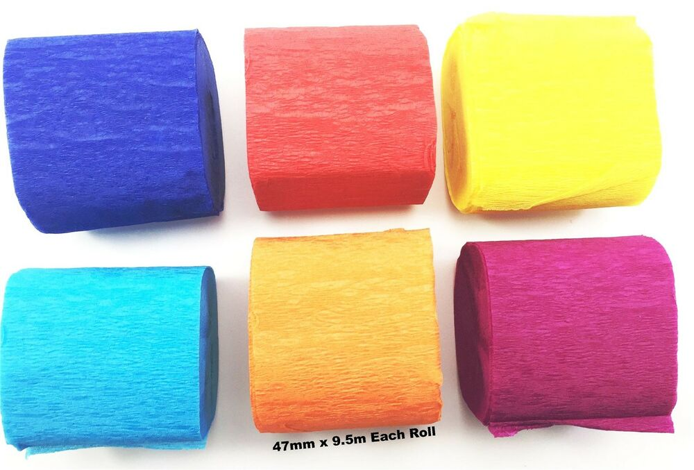 Crepe Paper Craft Supplies