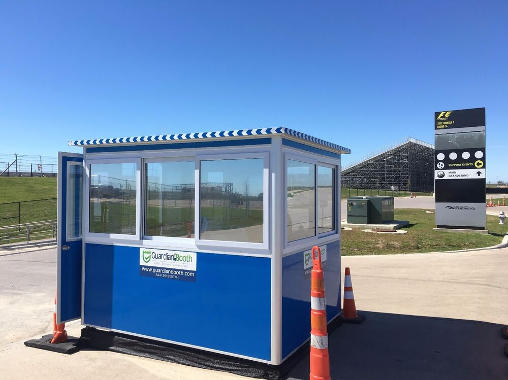Portable Parking Garage >> New 6'x8' Security Guard Shack / Ticket or Valet Parking ...