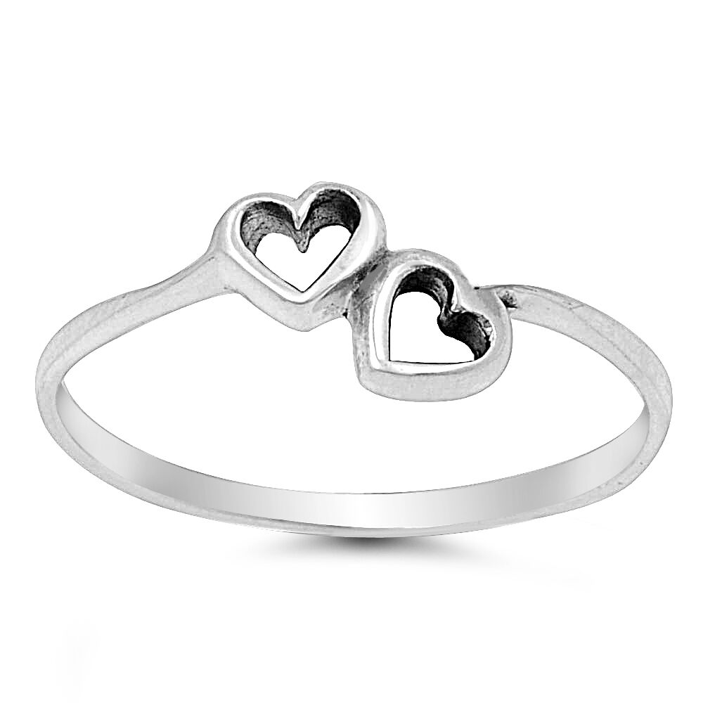 925 sterling silver promise ring size 4