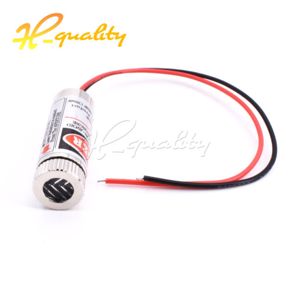 Red Cross Line Laser Focusable 5mW 650nm Module Focus Adjustable laser Head