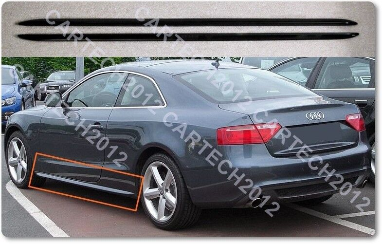 audi a5 s5line side skirts convertible sportback coupe. Black Bedroom Furniture Sets. Home Design Ideas
