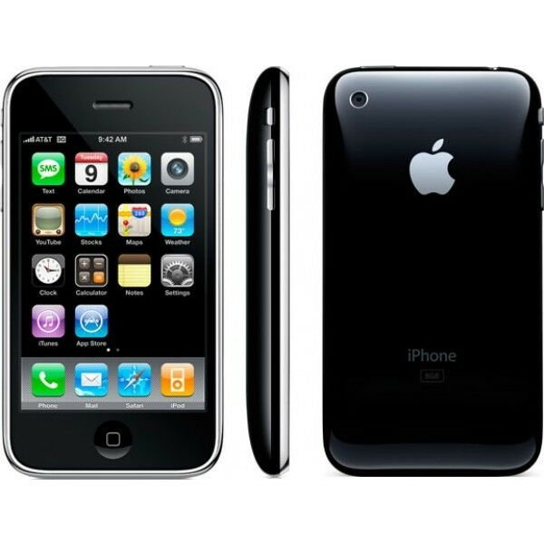 att iphone unlock apple iphone 3g 8gb black at amp t unlocked smartphone mb503ll 3091