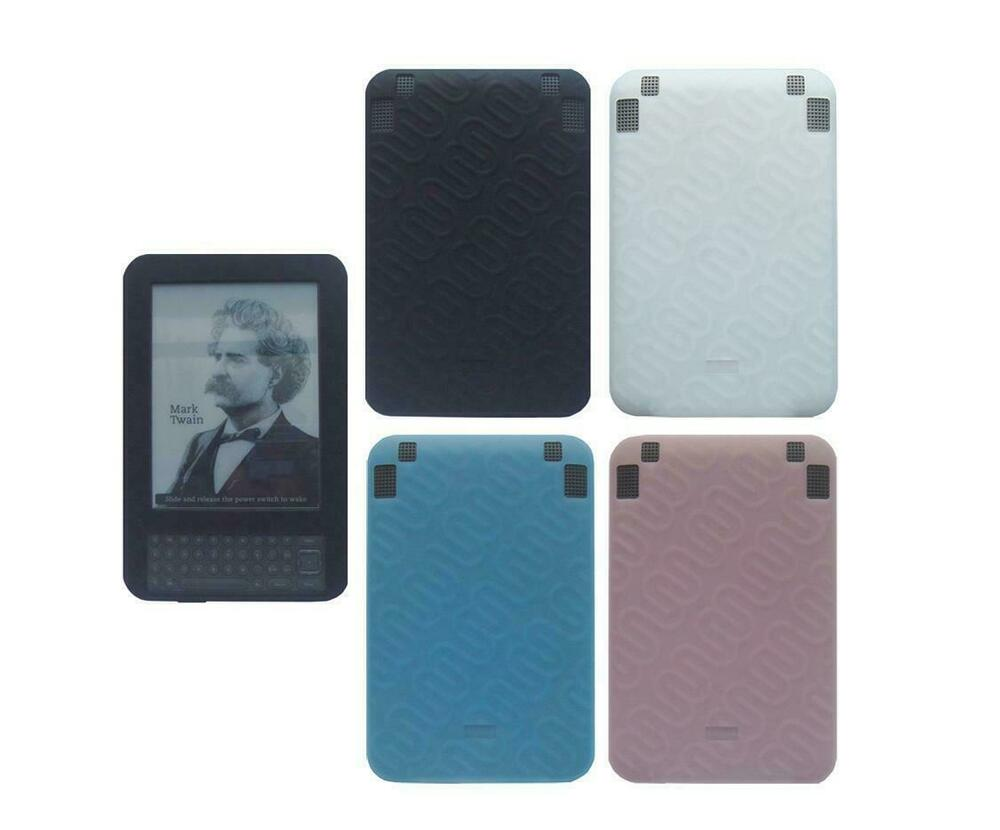 For Amazon Kindle Keyboard 3rd Generation Soft Rubber