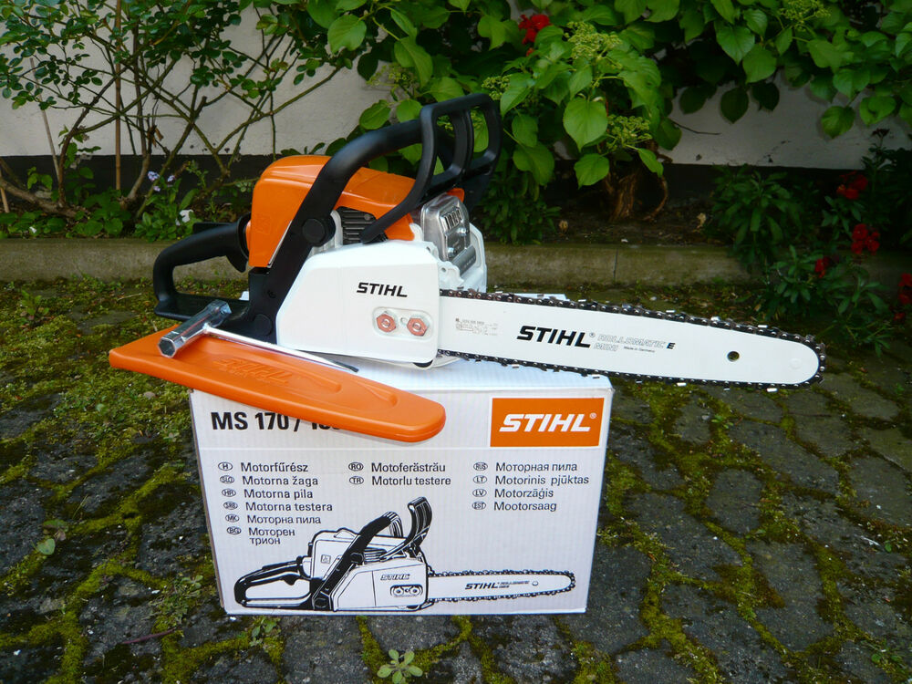 stihl ms 170 benzin motors ge 35cm pmm3 1 2kw kettens ge motorkettens ge s ge ebay. Black Bedroom Furniture Sets. Home Design Ideas
