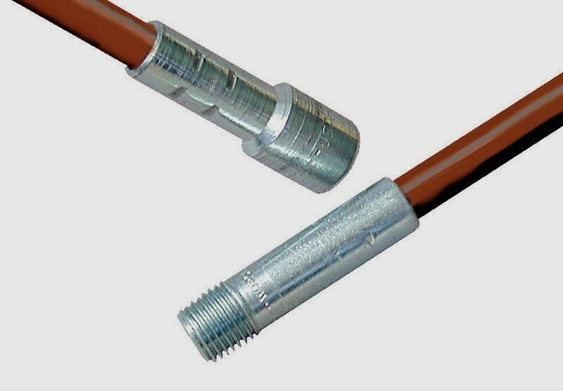 10624 Rutland 4 Fiberglass Extension Chimney Cleaning Rod