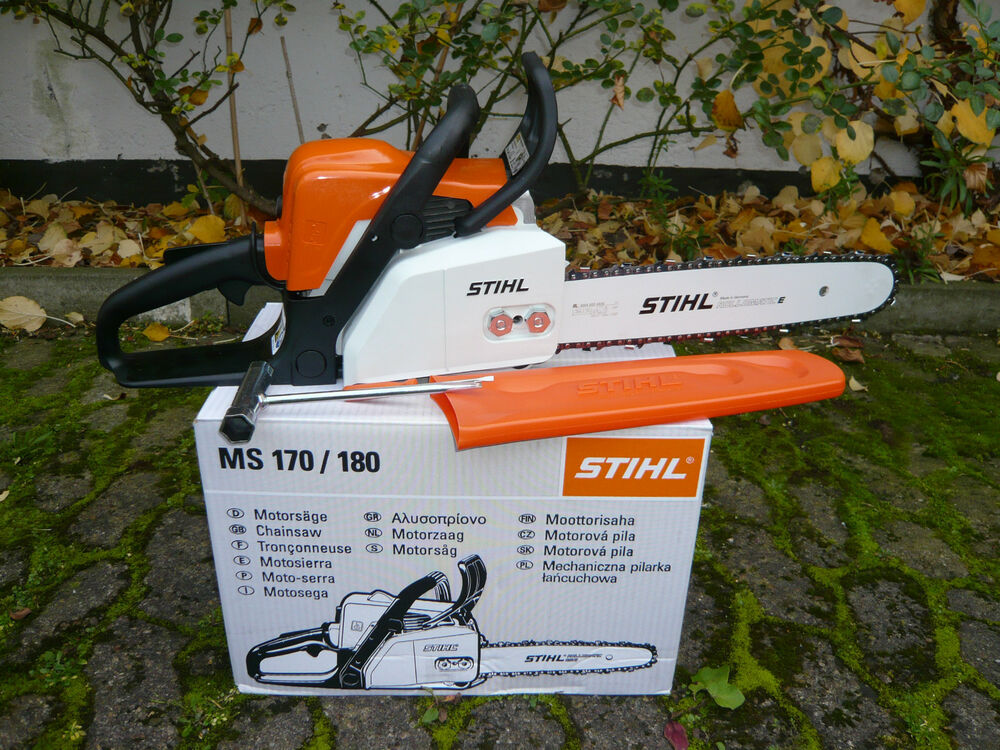stihl ms 180 benzin motors ge kettens ge 35cm motorkettens ge s ge ms180 ebay. Black Bedroom Furniture Sets. Home Design Ideas
