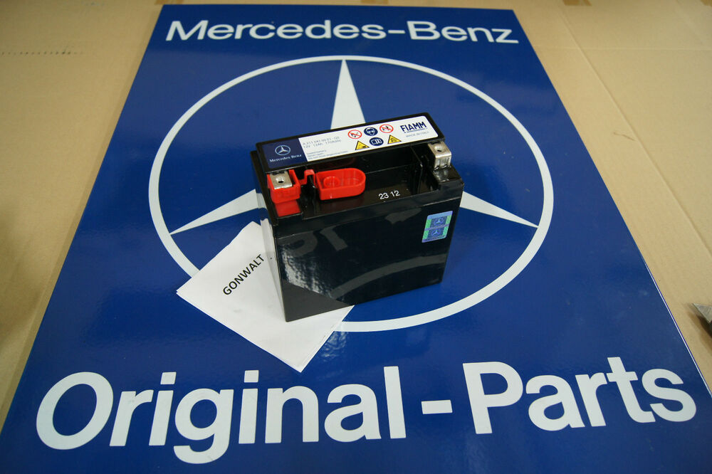 Mercedes benz secondary back up battery c300 c350 c63 amg for Mercedes benz c300 battery