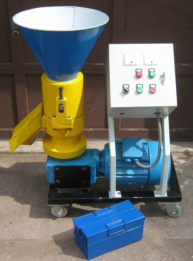 Wood Pellet Mill 7.5 hp. Make your own fuel pellets from ...