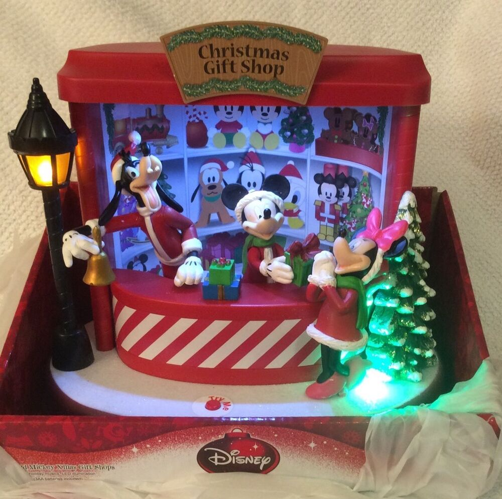 Mickey Minnie Mouse Animated Christmas Light Music Gift