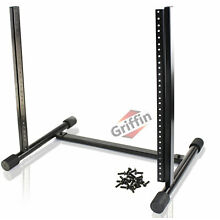 Studio Rack Mount Stand - Griffin Recording Mixer Equipment Gear Case Network DJ