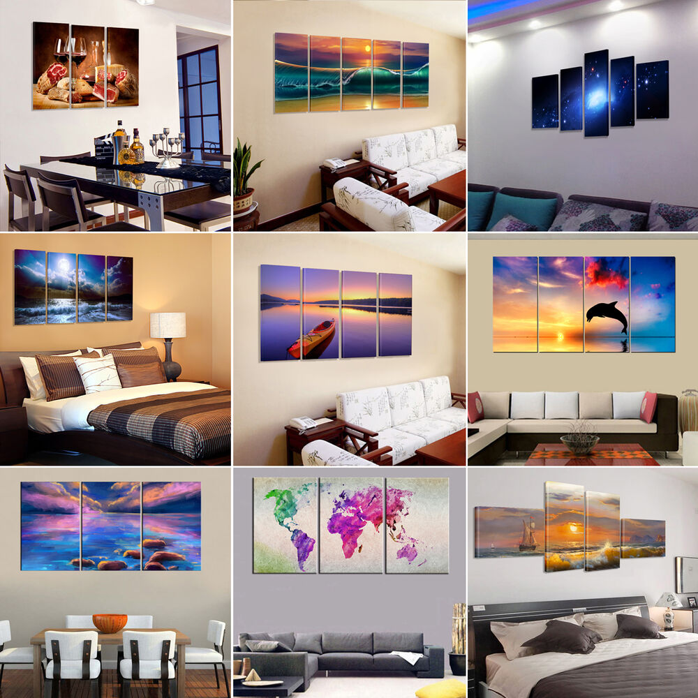Us Ready To Hang Modern Large Picture Hd Canvas Prints