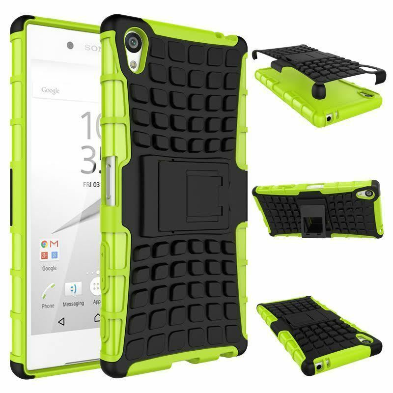 various colors b2960 8455d Sony Xperia Z5 PREMIUM [Slim Armour] Tough Shock Proof Case Stand + LCD  Guard | eBay