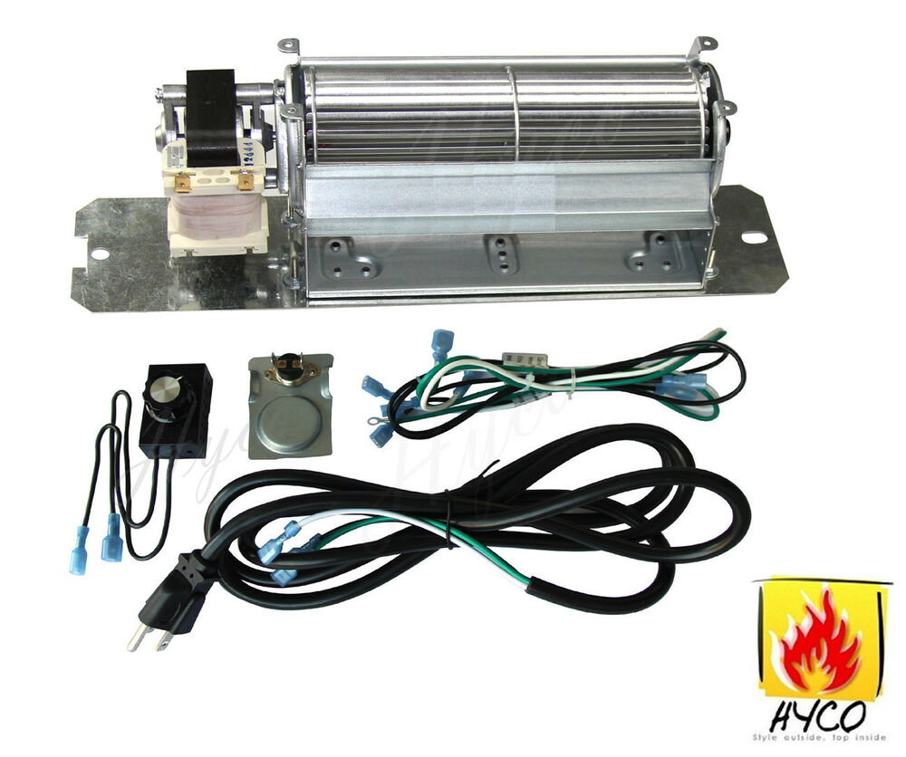 Gz550 Replacement Fireplace Blower Fan Kit For Continental Napoleon Rotom Ebay