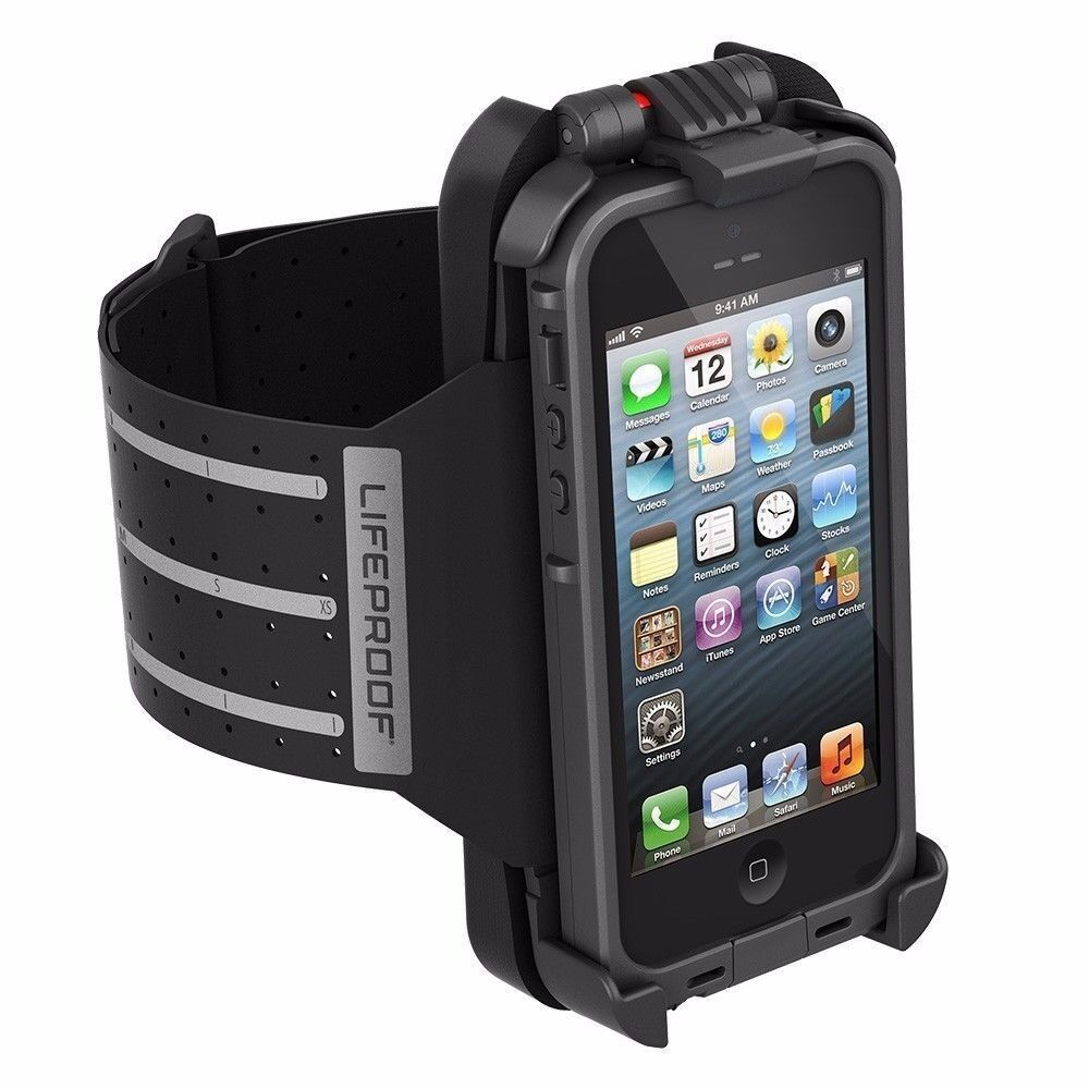 New OEM Lifeproof Arm Band For iPhone 5 Case Not Included Black : eBay