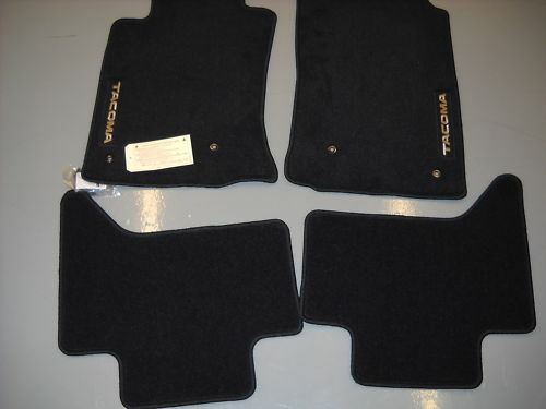 2005 2011 Toyota Tacoma Double Cab Carpet Floor Mats