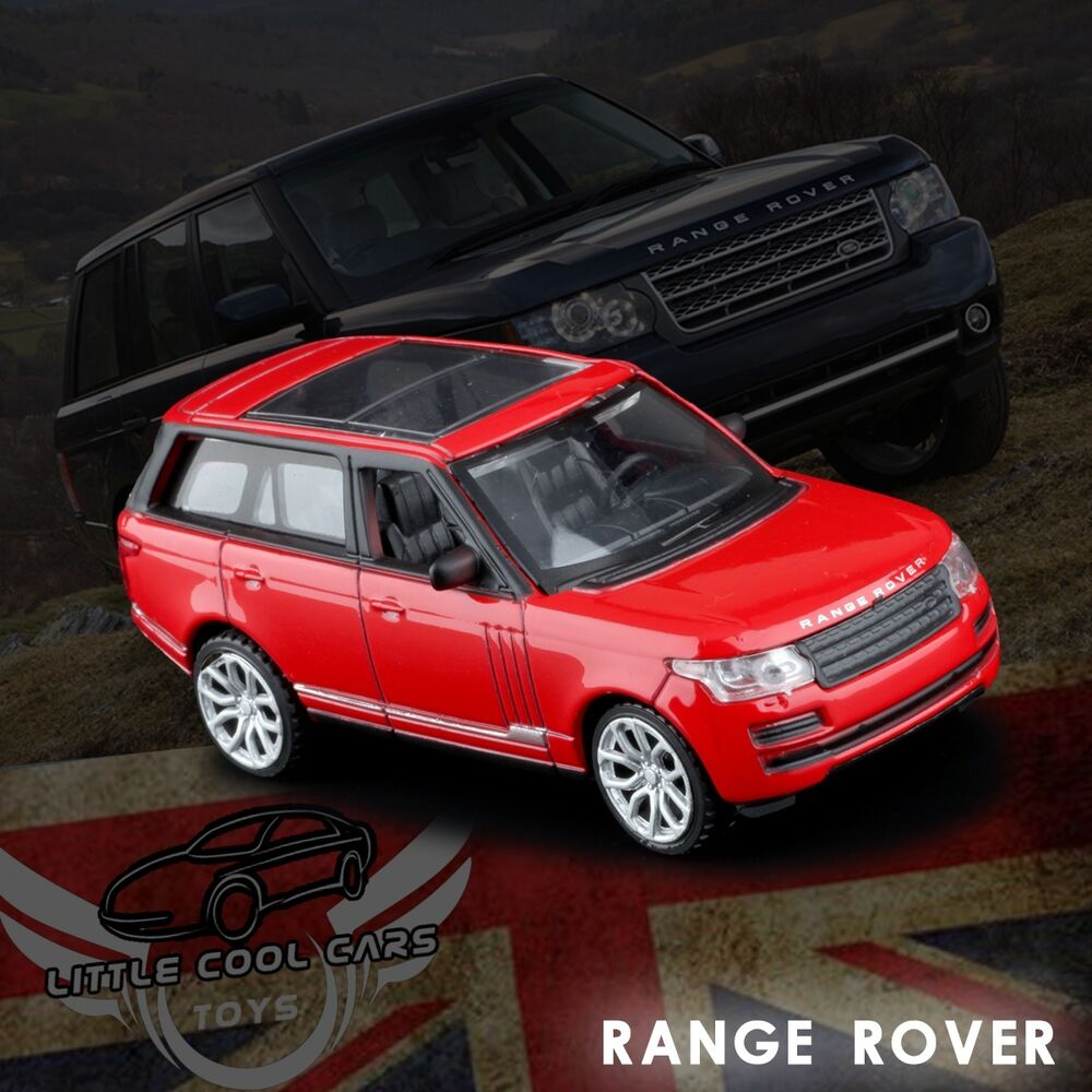 1:43 Scale Red Land Rover Range Rover Car Diecast Model 1