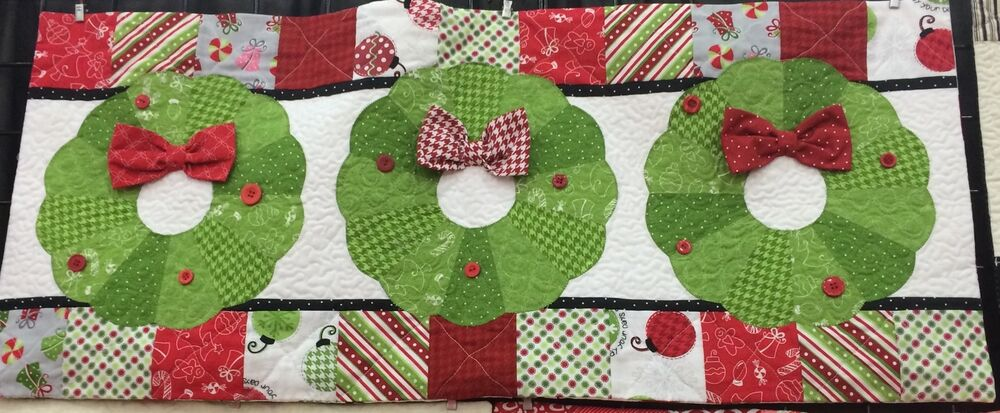 Deck The Halls Kimberbell Bench Pillow Of The Month