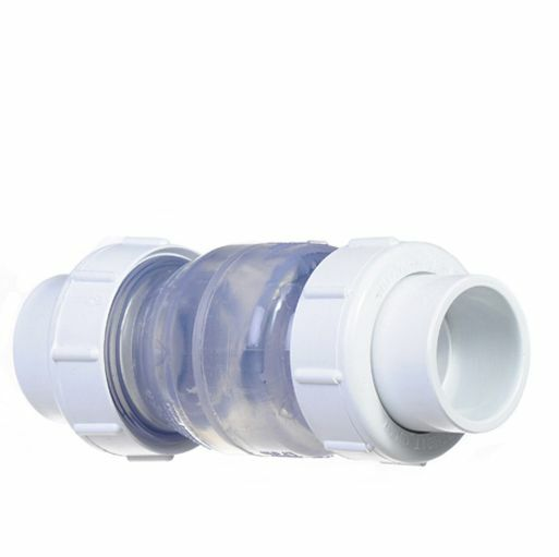Swimming Pool Plumbing Fittings : Swimming pool abs pipe fittings quot clear double union