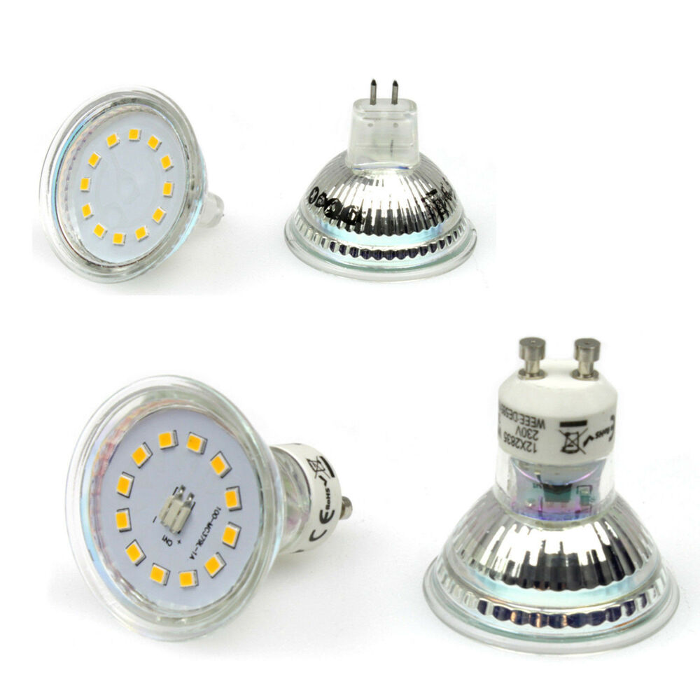 10stk 3watt led spot gu10 230v mr16 12v leuchte strahler licht birne lampe n11 ebay. Black Bedroom Furniture Sets. Home Design Ideas