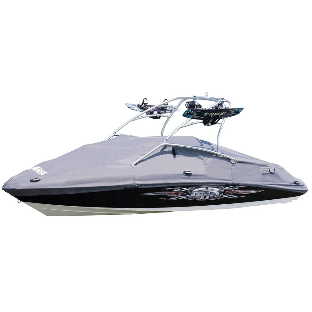 Yamaha 242 limited s 2010 2014 boat premium mooring cover for Yamaha boat cover