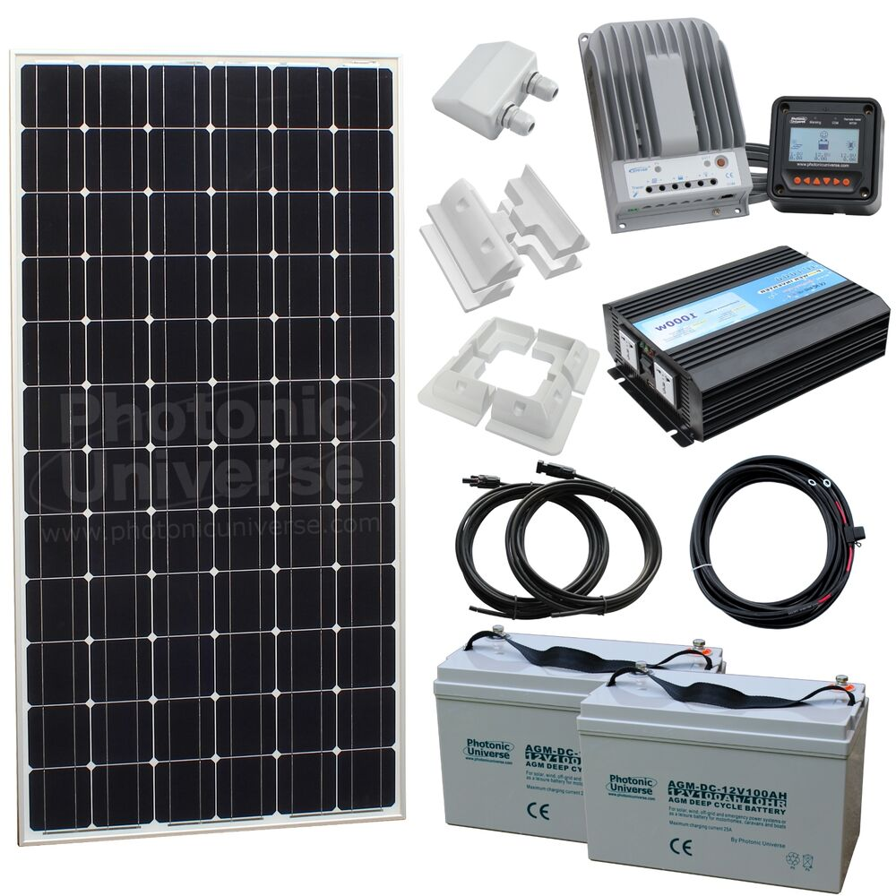 Micro Kit Small Off Grid Household Solar Power System