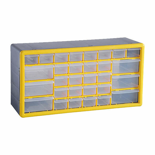 30 drawer organiser tool box cabinet case storage chest for Garage costruito case