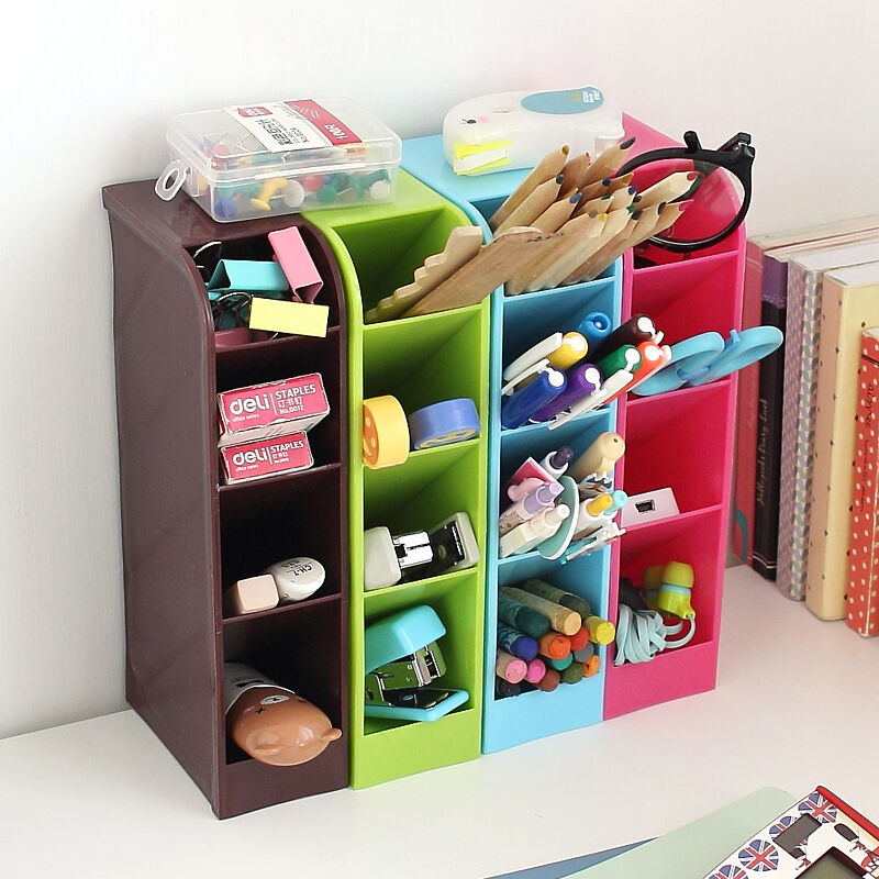 Storage Box Cosmetic Underwear Desk Bar Organizer Office Caddy | eBay