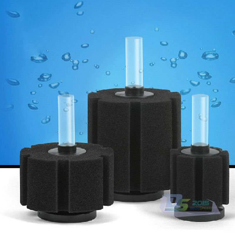 Aquarium biochemical bio sponge foam filter for aquarium for Fish tank filtration