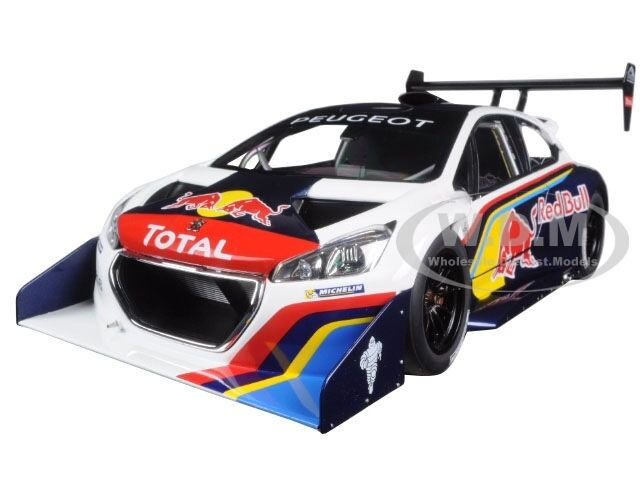 2013 peugeot 208 t16 pikes peak race car red bull 1 18 car by autoart 81354 ebay. Black Bedroom Furniture Sets. Home Design Ideas