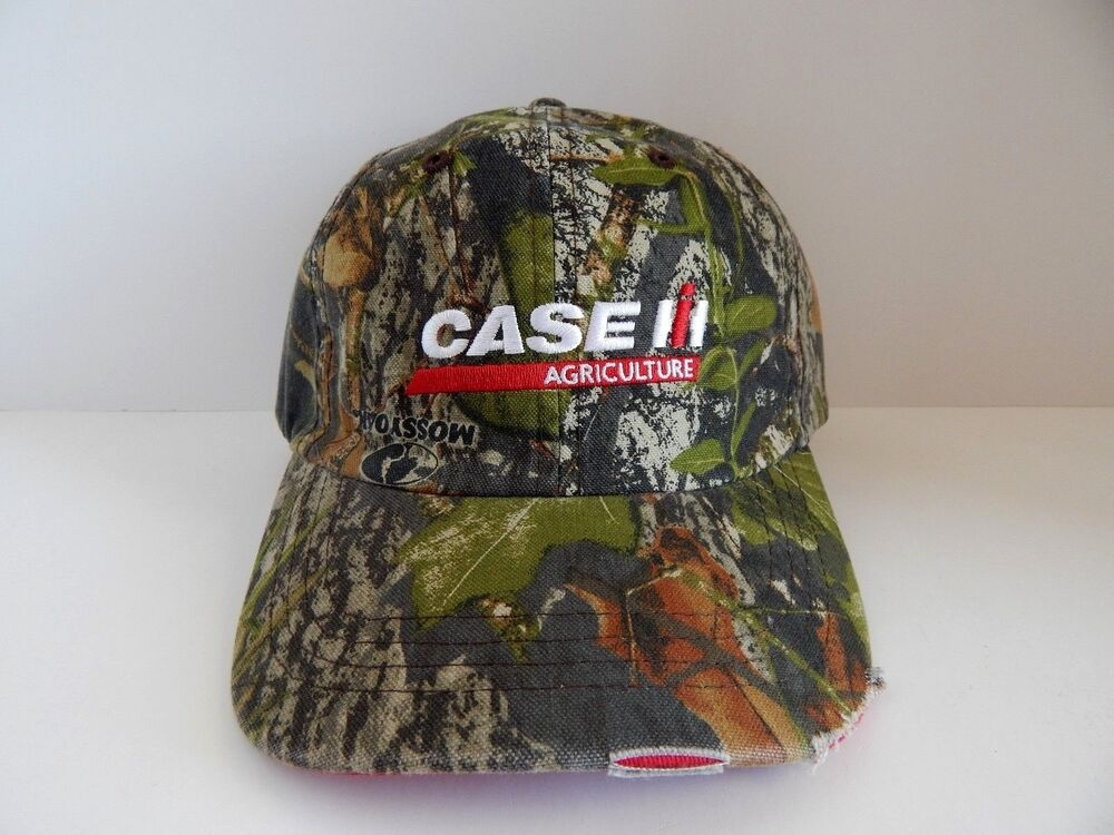 Details about Case IH Mossy Oak Obsession Distressed Camo Men s Cap eb2a36faf8ff