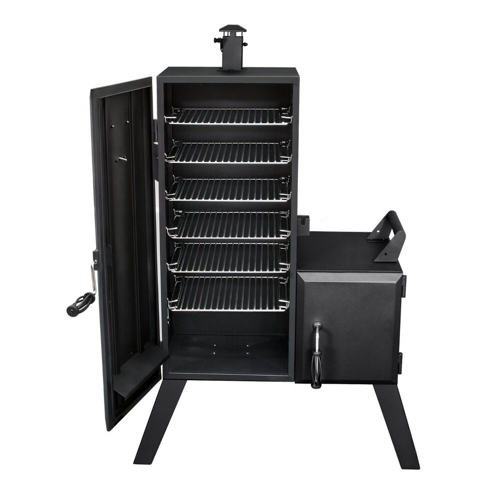 vertical charcoal smoker bbq grill pit outdoor backyard meat cooker 1 176 sq in ebay. Black Bedroom Furniture Sets. Home Design Ideas