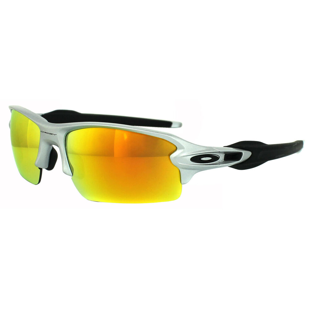 Oakley Sunglasses Flak 2 0 Oo9295 02 Silver Fire Iridium