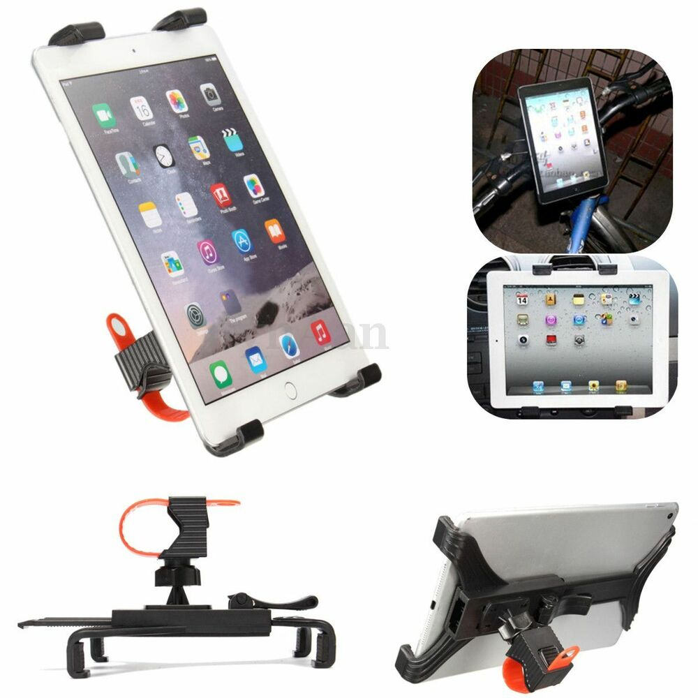 Bicycle Microphone Stand Holder Mount For Ipad Air 2 Mini