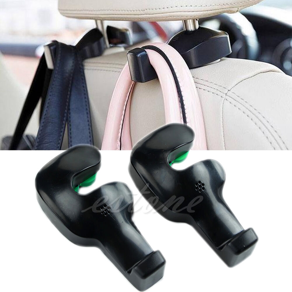 fashion convenient auto car vehicle seat hanger holder hook bag coat organizer ebay. Black Bedroom Furniture Sets. Home Design Ideas