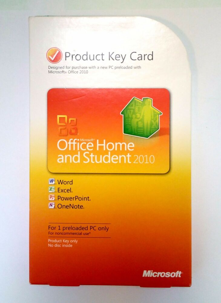 microsoft office 2010 home and student product key card. Black Bedroom Furniture Sets. Home Design Ideas