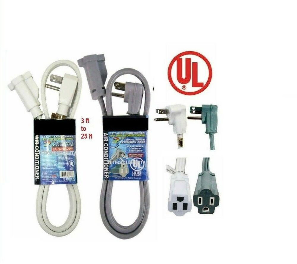 Appliance Power Cable : Appliance extension cord heavy duty ul ft