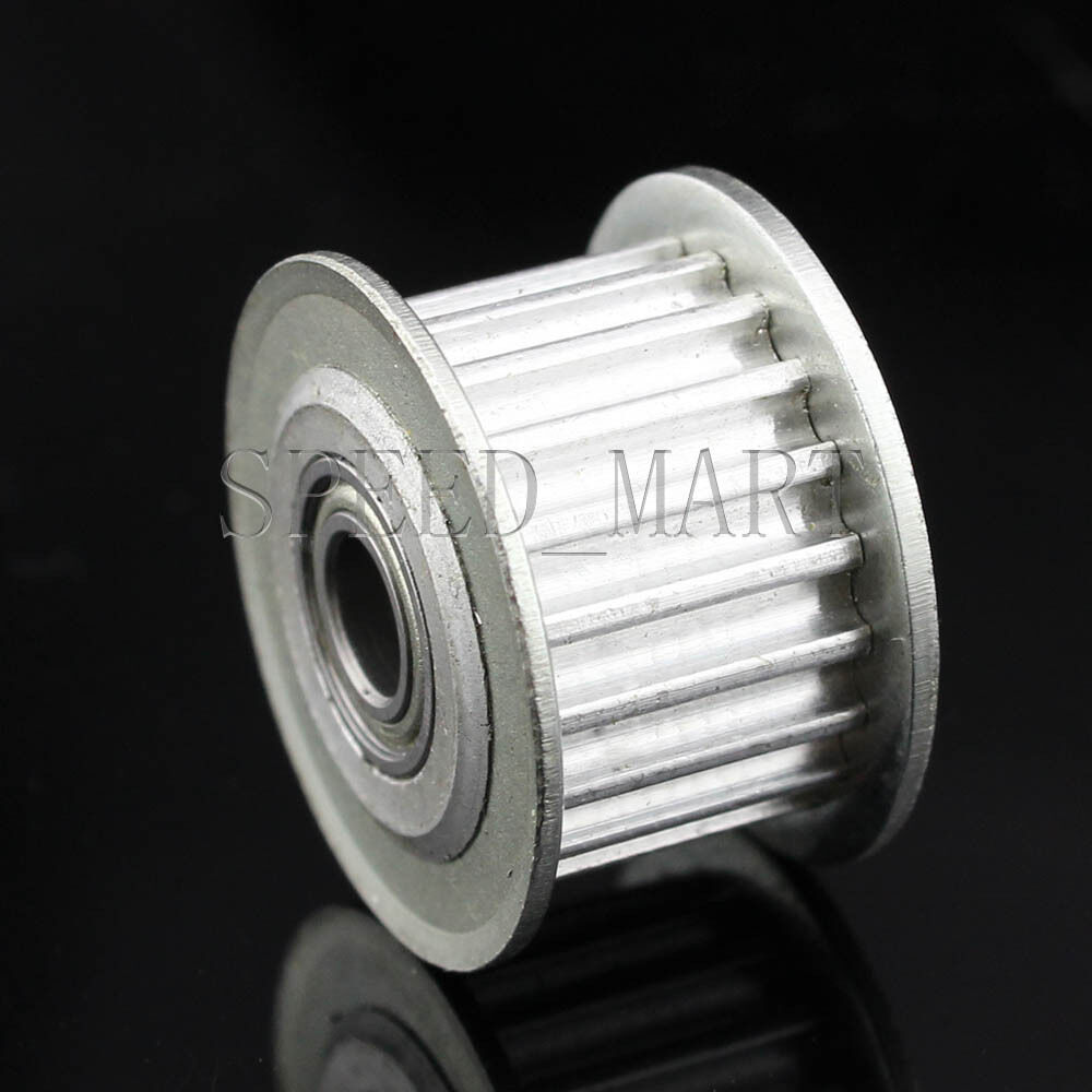 Htd 3m 20t 5b 11w Aluminum Timing Belt Idler Pulley With