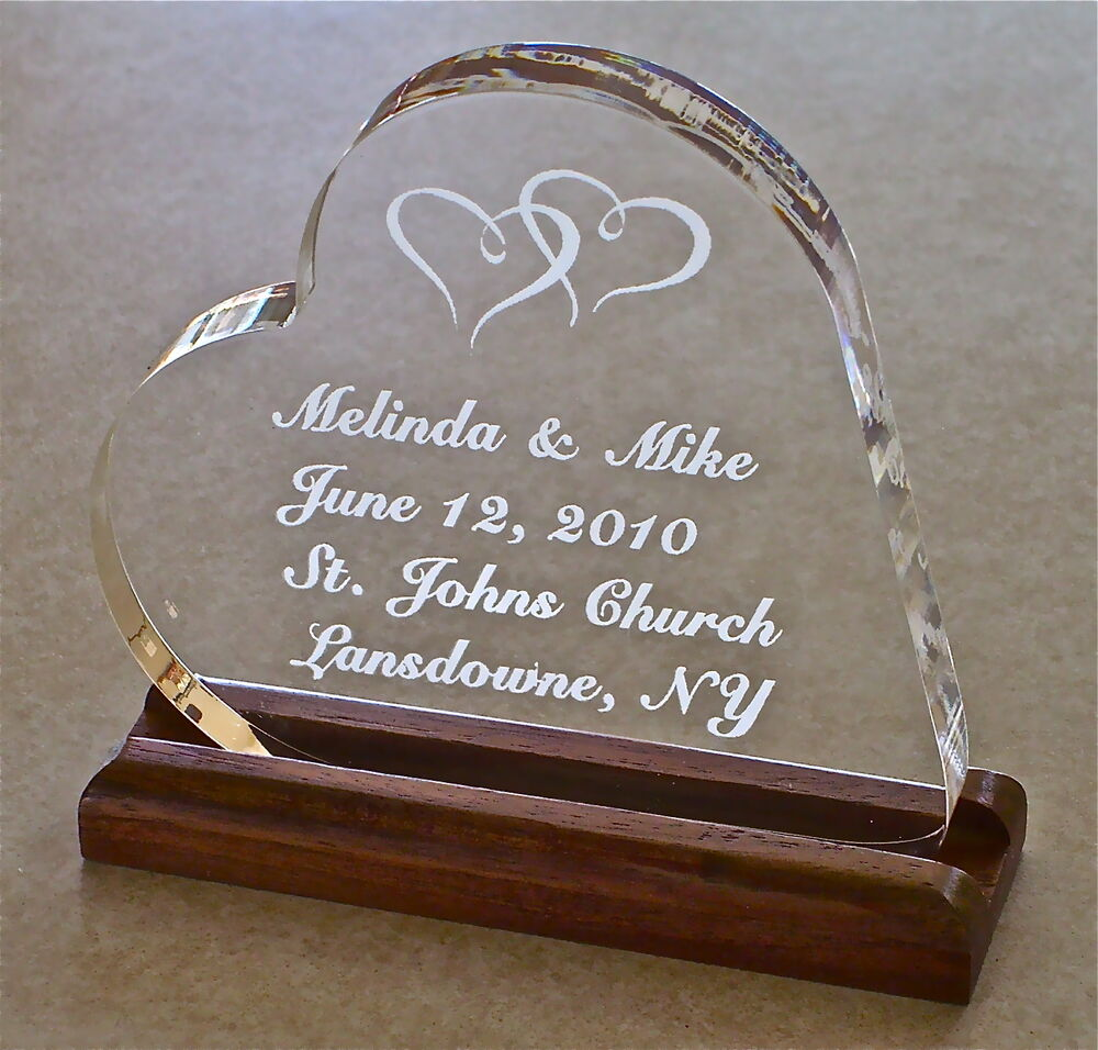 engraved wedding cake toppers wedding cake topper acrylic engraved groom ebay 14035